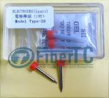 Électrodes de pièce de rechange de colleuse de fusion de qualité pour la machine de épissure de fusion