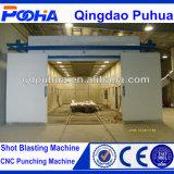 砂のBlasting部屋Sand Blasting BoothかSand Blasting Chamber