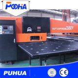 China-Metallblatt CNC-Drehkopf-lochende Maschine