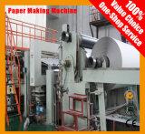 Cadena de producción del papel de escribir, papel de imprenta