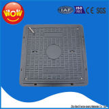 A15 En124 SMC Square Resin Sanitary Sewer Manhole Cover