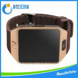 O relógio esperto de Bluetooth Dz09 do podómetro para o pulso de disparo esperto Smartwatche da sincronização da sustentação Android do Ios Wristwear, impede o sono da perda para lembrar