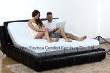 Talla ajustable eléctrica de la reina del colchón de la espuma de la memoria de la base del masaje de la base de los muebles de los muebles caseros del dormitorio