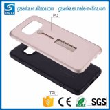 Caixa de telefone celular híbrido combinado para suporte de anel para iPhone 66splus