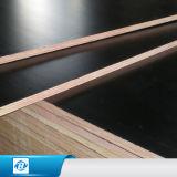 La película fenólica negra roja de Brown/hizo frente a la madera contrachapada impermeable de la construcción para el material de construcción