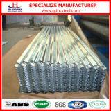 Chapa de aço ondulada do zinco de alumínio para o painel do telhado