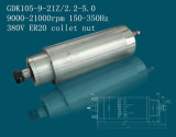 asse di rotazione raffreddato ad acqua 2.2kw-5kw (GDK105-12-24Z/2.2-5.0) di 105mm