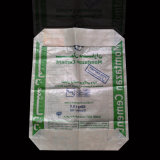 sacchetto della valvola del cemento tessuto 50kg della carta kraft Del polipropilene di 20kg 25kg
