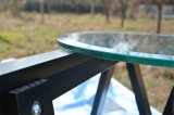 "1/4 "", 3/8"", 1/2 ""Clear Float Outdoor Tabletop Toughened Glass"