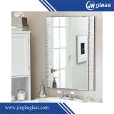5mm silbernes Spiegel-Glas mit Recentage S Form-Spiegel
