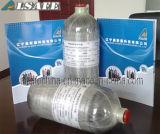 Pressione minuta della bottiglia dell'aria di Hooped della fibra del carbonio di 90 Scba