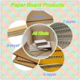Corrugated Paperboard 5-Ply делая машину