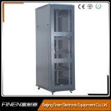 19 cabina de la red de la puerta del acoplamiento del metal del estante del servidor de la pulgada 18u-42u