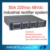 sistema Telecom do retificador de 48V 50A