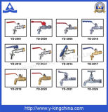 Precio de fábrica 1/2 pulgadas -2 resorte de cobre amarillo válvula de retención (YD-3001)
