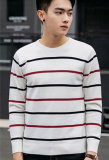 Конструкция горячего сбывания новая свитер толщиных людей Striped