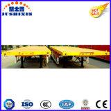 20FT 40FT Aanhangwagen van de Vrachtwagen van het Vervoer van de Container Flatbed