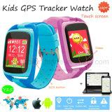 Vigilanza dell'inseguitore di GPS dei bambini con lo schermo di tocco ed il tasto di SOS (Y15)