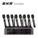 직업적인 디지털 고성능 무선 마이크 시스템 Kx D3918
