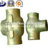 Carcaça de areia do metal da válvula do ferro de molde do OEM do aço de carbono