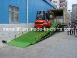 Rampe d'embarcadère de conteneur de chariot élévateur d'atelier d'emballage