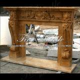 Cheminée classique d'or de Ny pour la décoration à la maison Mfp-333
