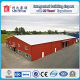 Almacén ligero pre dirigido/taller/fábrica de la estructura de acero