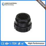 Conetor redondo 206305-1 do cabo automotriz da solução do sistema de iluminação