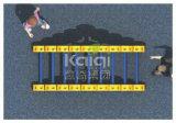 Спортивная площадка серии кубика Kaiqi физического Rubik с по-разному зданием, взбираться, сползая дороги (KQ60147B)