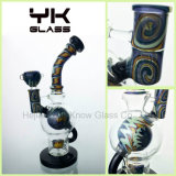 Mothership Fab Egg Glas Rauchen Wasser Rohre Farbige Recycler Pipe
