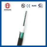 24 Cable de cinta de fibra óptica de tubo central central para la red de acceso de comunicación