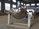 POT di cottura di gas di Pricr della fabbrica grande con la doppia caldaia rivestita del panino della caldaia