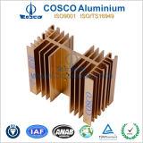 Aluminio / aluminio del disipador de calor (ISO9001 : 2008 TS16949 : 2008 )