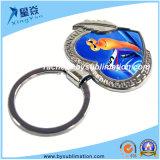 Metal Keychain da Coração-Forma do Sublimation para a venda