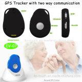 Perseguidor pessoal do GPS do mini tamanho com cobrar da estação de embarcadouro (EV-07)