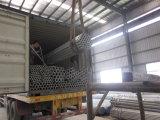 Pipa de acero galvanizada sumergida caliente, roscado y juntado, CRNA ASTM A53 (GI-LIU-61)