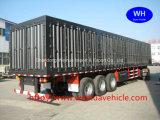 製造からの2つの車軸/3つの車軸/4車軸のCargoヴァンSemi Truckトレーラーそして容器のトレーラー