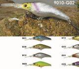 Attrait choisi de pêche de vairon de peinture de qualité de dessus de pêcheurs