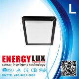 E-L34G IP65 18Wの正方形の形の薄暗い動きセンサー屋外ライト