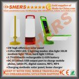 Складной свет 12 SMD СИД солнечный ся с USB (SH-2003)
