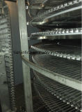 Réfrigération spiralée de la haute performance SL500 de surgélation pour le légume