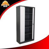 Постучанный вниз шкаф для картотеки двери Tambour металла пользы офиса структуры