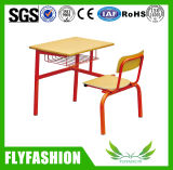 Solo escritorio de madera combinado y silla (SF-101S) del estudiante