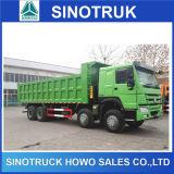 Carro de vaciado de Sinotruk HOWO 8X4 a África