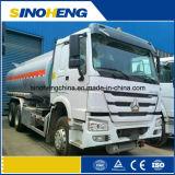 기름 Zz1257n4341W를 위한 20000L (20m3) Sinotruk HOWO 6X4 연료 유조 트럭