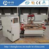 Dos cabezas de madera CNC Router