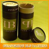 Коробка круглого цилиндра картона упаковывая для краски волос