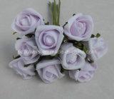 Rose artificiali della Fiore-Gomma piuma