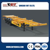 40 FT Container Flatbed Semi Trailer con Cheap Price in Stock