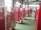 Hochleistungshilfsmittel-Schrank mit 33 Aluminiumgriff-Fächern